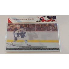 TE-6 Patrik Laine Triple Exposure Insert Set 2017-18 Tim Hortons UD Upper Deck