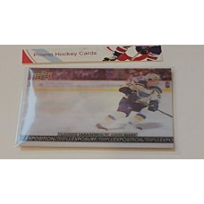 TE-9 Vladimir Tarasenko Triple Exposure Insert Set 2017-18 Tim Hortons UD Upper Deck