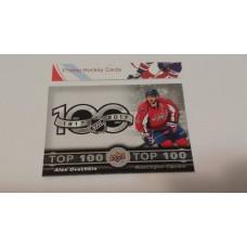 TOP-3 Alex Ovechkin - Washington Capitals Top 100 Insert Set 2017-18 Tim Hortons UD Upper Deck