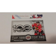 TOP-4 Patrick Kane - Chicago Blackhawks Top 100 Insert Set 2017-18 Tim Hortons UD Upper Deck
