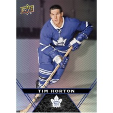 1 Tim Horton Base Card 2018-19 Tim Hortons UD Upper Deck