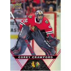 20 Corey Crawford Base Card 2018-19 Tim Hortons UD Upper Deck