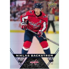 21 Niklas Backstrom Base Card 2018-19 Tim Hortons UD Upper Deck