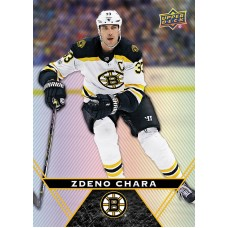 25 Zdeno Chara  Base Card 2018-19 Tim Hortons UD Upper Deck
