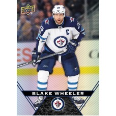 26 Blake Wheeler Base Card 2018-19 Tim Hortons UD Upper Deck