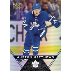 34 Auston Matthews Base Card 2018-19 Tim Hortons UD Upper Deck