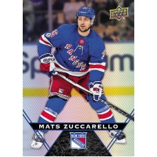 36 Mats Zuccarello Base Card 2018-19 Tim Hortons UD Upper Deck