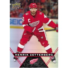 40 Henrik Zetterberg Base Card 2018-19 Tim Hortons UD Upper Deck