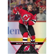 41 Nico Hischier Base Card 2018-19 Tim Hortons UD Upper Deck