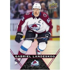 47 Gabriel Landeskog Base Card 2018-19 Tim Hortons UD Upper Deck