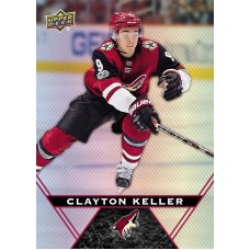 54 Clayton Keller Base Card 2018-19 Tim Hortons UD Upper Deck