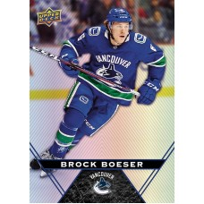 6 Brock Boeser Base Card 2018-19 Tim Hortons UD Upper Deck
