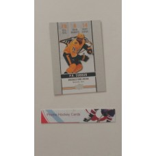 GDA-14 P.K. Subban  2018-19 Tim Hortons UD Upper Deck Game Day Action