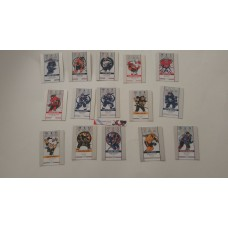 Complete Game Day Action Set GDA1-15  2018-19 Tim Hortons UD Upper Deck