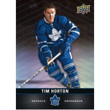 1 Tim Horton Base Card 2019-20 Tim Hortons UD Upper Deck