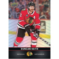 2 Duncan Keith Base Card 2019-20 Tim Hortons UD Upper Deck