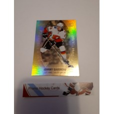 GE-5 Johnny Gaudreau Gold Etchings Set 2019-20 Tim Hortons UD Upper Deck