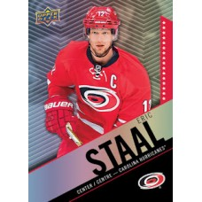 2 Eric Staal Base Set Tim Hortons 2015-2016 Collector's Series