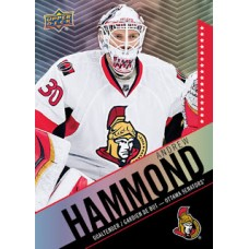 3 Andrew Hammond Base Set Tim Hortons 2015-2016 Collector's Series