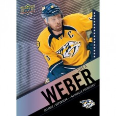 4 Shea Weber Base Set Tim Hortons 2015-2016 Collector's Series