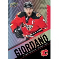 5 Mark Giordano Base Set Tim Hortons 2015-2016 Collector's Series