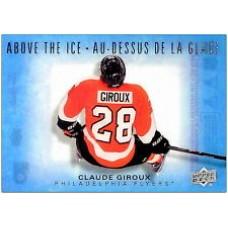 AI-CG Claude Giroux  Above the Ice Insert Set Tim Hortons 2015-2016 Collector's Series
