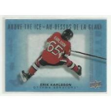 AI-EK Erik Karlsson  Above the Ice Insert Set Tim Hortons 2015-2016 Collector's Series