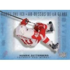 AI-HZ Henrik Zetterberg  Above the Ice Insert Set Tim Hortons 2015-2016 Collector's Series