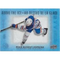 AI-RN Ryan Nugent-Hopkins Above the Ice Insert Set Tim Hortons 2015-2016 Collector's Series