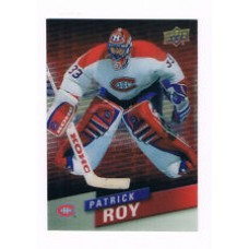 FF-3 Patrick Roy Franchise Force Insert Set Tim Hortons 2015-2016 Collector's Series