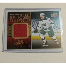 JR-JP Jason Pominville NHL Jersey Relics Tim Hortons 2015-2016 Collector's Series Game Jersey Super Rare