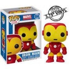 Funko Pop! Marvel Iron Man Vinyl Action Figure Bobble Head #04 FU2274
