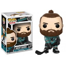 Funko Pop! NHL 12 Brent Burns San Jose Sharks Home Jersey Pop Vinyl FU21348