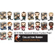Funko Pop! All 9 NHL 11-19 Pop Marchand Burns Malkin Carter Tarasenko Holtby Crawford Simmonds Dubnyk
