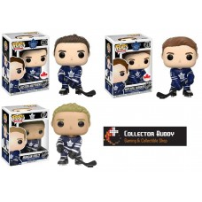 Funko Pop! NHL 07 20 21 Auston Matthrews, Mitchell Marner & Morgan Rielly Toronto Maple Leafs Pop