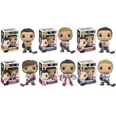 Funko Pop! All Six NHL Away Jerseys Exclusively in Canada  McDavid, Crosby, Price, Towes, Ovechkin, & Rielly Vinyl Action Figures