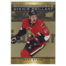 SF-10 Mark Stone Shining Futures Insert Set Tim Hortons 2015-2016 Collector's Series