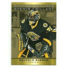 SF-1 Malcolm Subban Shining Futures Insert Set Tim Hortons 2015-2016 Collector's Series