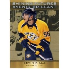 SF-2 Kevin Fiala Shining Futures Insert Set Tim Hortons 2015-2016 Collector's Series