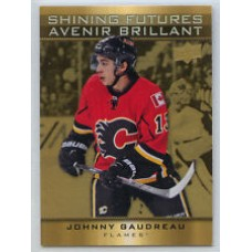 SF-3 Johnny Gaudreau Shining Futures Insert Set Tim Hortons 2015-2016 Collector's Series