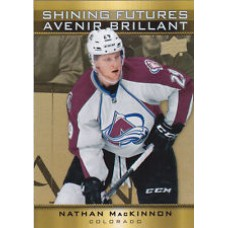 SF-5 Nathan MacKinnon Shining Futures Insert Set Tim Hortons 2015-2016 Collector's Series