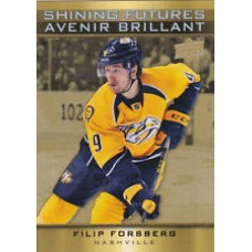 SF-8 Filip Forsberg Shining Futures Insert Set Tim Hortons 2015-2016 Collector's Series