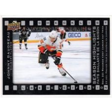 SH-1 Johnny Gaudreau Season Highlights Checklist Insert Set Tim Hortons 2015-2016 Collector's Series