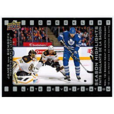 SH-5 James van Riemsdyk Season Highlights Checklist Insert Set Tim Hortons 2015-2016 Collector's Series