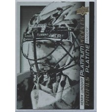 PP SS-11 Henrik Lundqvist Platinum Profiles Insert Set Tim Hortons 2015-2016 Collector's Series