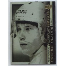 PP SS-3 Peter Forsberg Platinum Profiles Insert Set Tim Hortons 2015-2016 Collector's Series