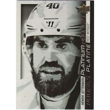 PP SS-7 Henrik Zetterberg Platinum Profiles Insert Set Tim Hortons 2015-2016 Collector's Series