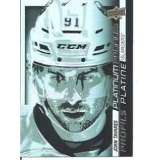 PP SS-9  John Tavares Platinum Profiles Insert Set Tim Hortons 2015-2016 Collector's Series