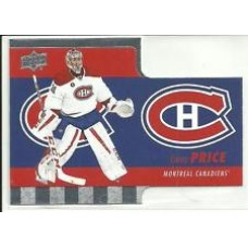 TH-1 Carey Price Diecuts Insert Set Tim Hortons 2015-2016 Collector's Series