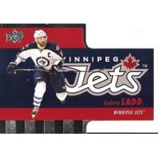 TH-2 Andrew Ladd Diecuts Insert Set Tim Hortons 2015-2016 Collector's Series